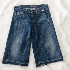 7 For All Mankind Gaucho Jeans
